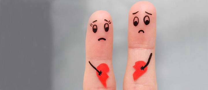 طلاق عاطفی چیست - مارپیچ وارونه