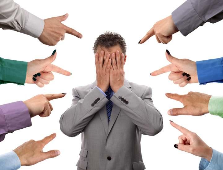 مسئولیت پذیری ، مقصر ندانستن دیگران