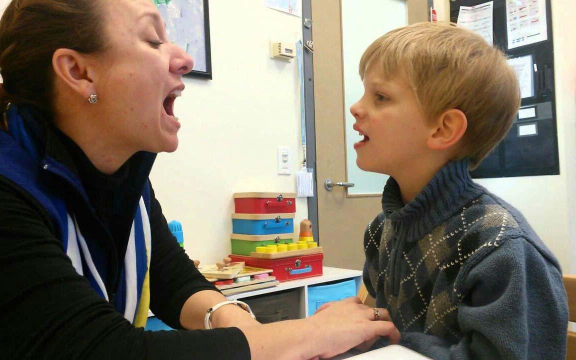 برنامه های گفتار درمانی