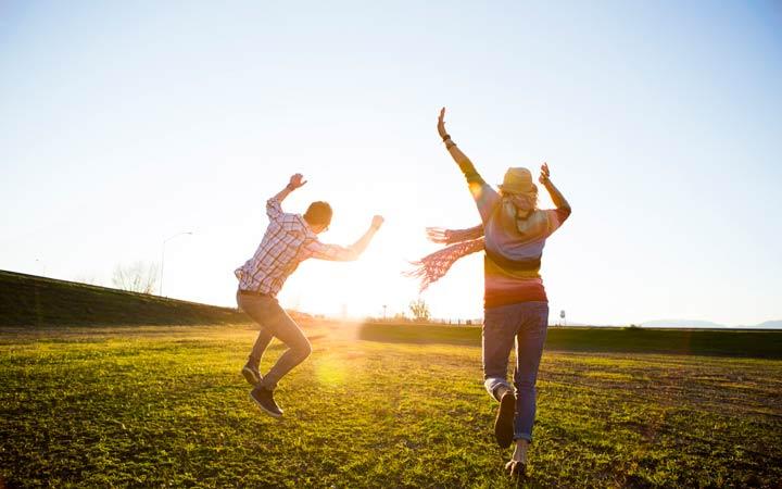 50 ایده برای زندگی بهتر در سال جدید - شاد بودن