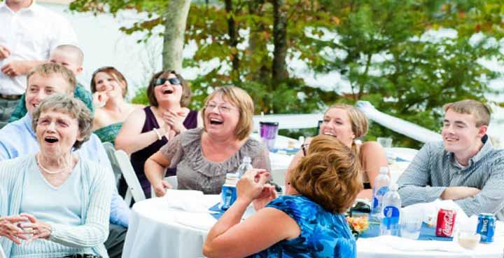 مهمانی خانوادگی راهی برای جلوگیری از سکته مغزی