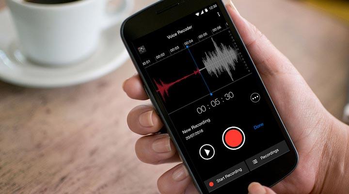 درخواست افزایش حقوق - ضبط کردن صدا
