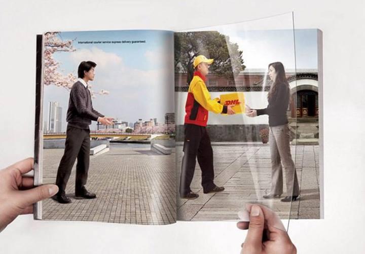 استفاده از حرکت برای ایجاد تبلیغات خلاقانه
