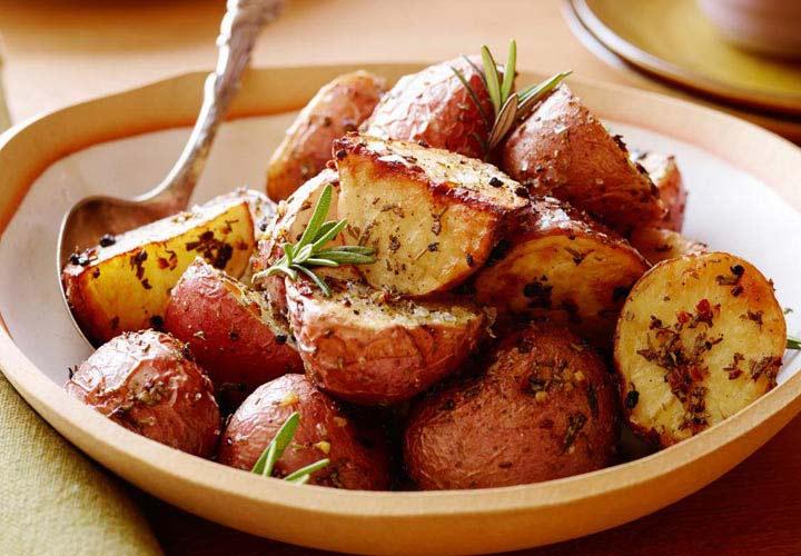 مواد غذایی حاوی آهن- سیبزمینی