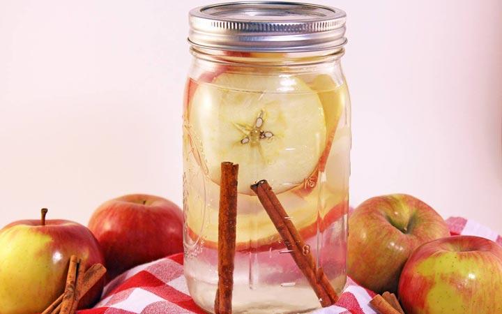 طرز تهیه نوشیدنی لاغری سیب