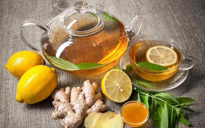 چای سبز متابولیسم بدن را بالا می برد - دمنوش برای لاغری