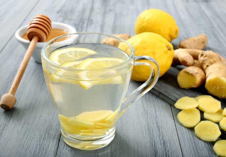 زنجبیل و لاغری - چای زنجبیل و لیمو و عسل می تواند به کاهش وزن کمک کند.