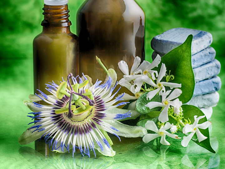 برای درمان استرس دمنوش گل ساعتی بنوشید