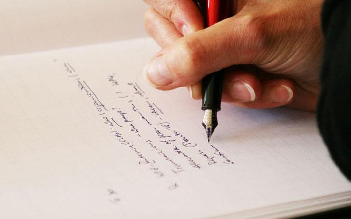 برای کنترل اعصابتان یادداشت بردارید - نحوه دفاع از پایان نامه