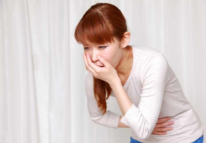 استفراغ - علائم فشار خون پایین