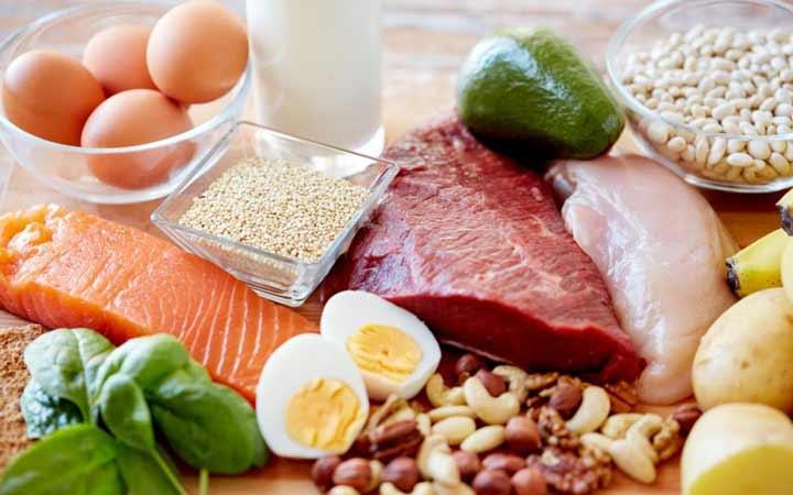 پروتئین - رژیم غذایی سالم