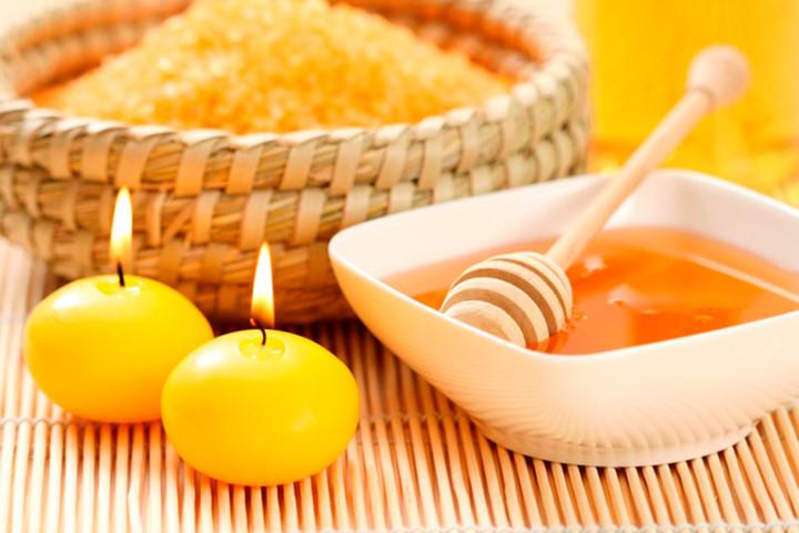 عسل - درمان جای جوش
