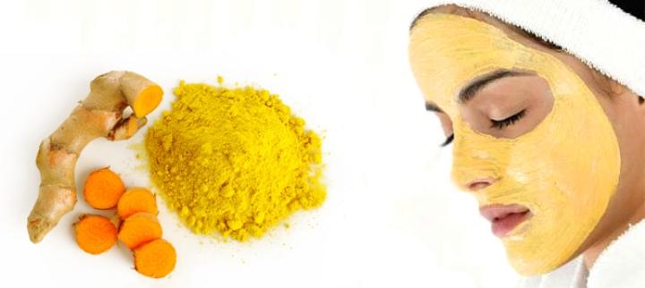 ماسک زردچوبه - درمان جای جوش