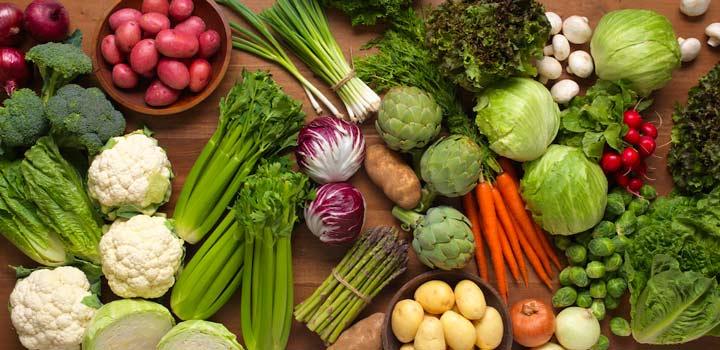 سبزیجات - رژیم غذایی سالم
