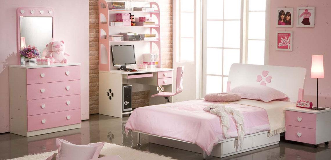 طراحی دکوراسیون اتاق خواب دخترانه با ۱۶ نکته خلاقانه