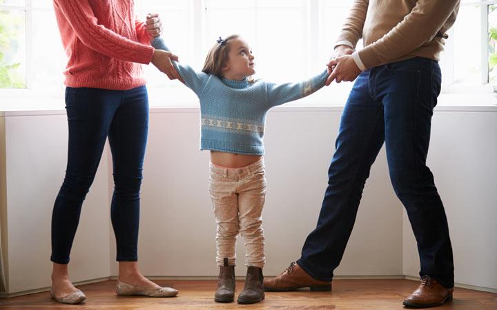 عوامل طلاق - اختلاف نظر در تربیت کودکان
