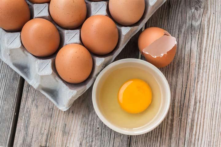 تخم مرغ - آبرسانی به مو