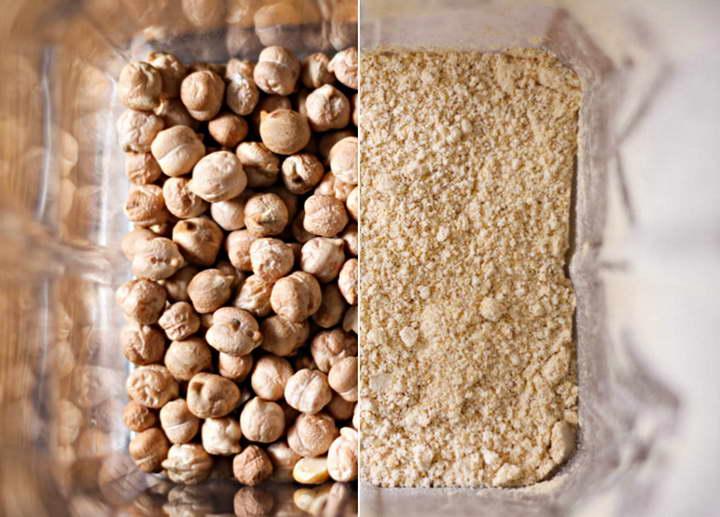 برای درمان جوش های سرسفید از آرد نخود استفاده کنید
