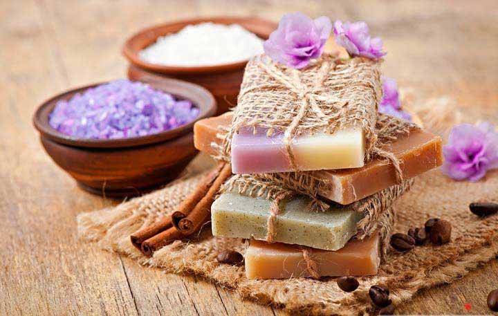 صابون طبیعی - آبرسانی به پوست