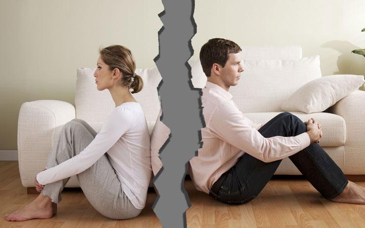 بازگشت افسردگی - طلاق