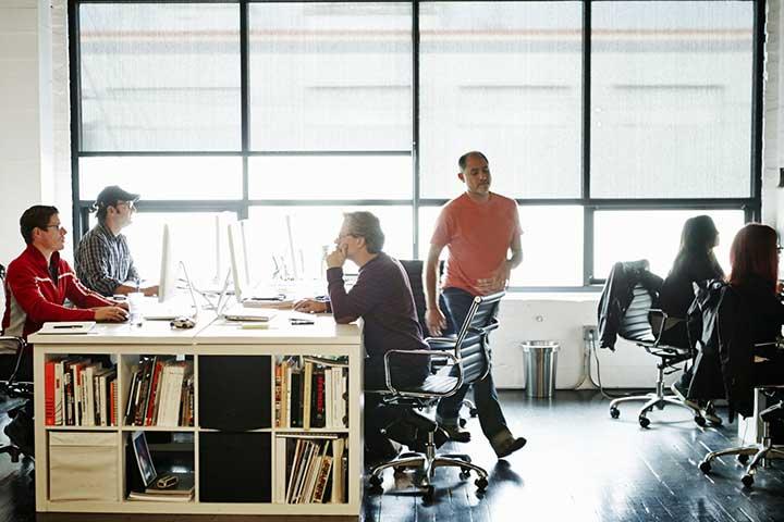 ورزش در محل کار - حرکات هوازی