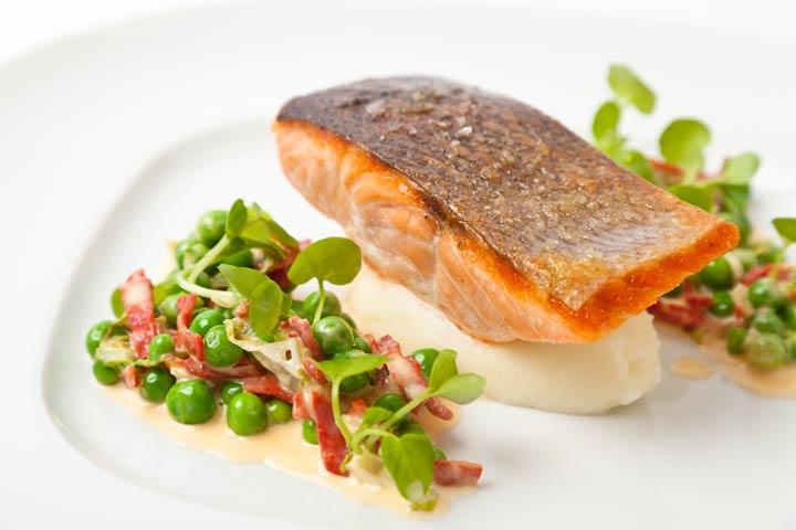 ماهی سالمون - منابع ویتامین D