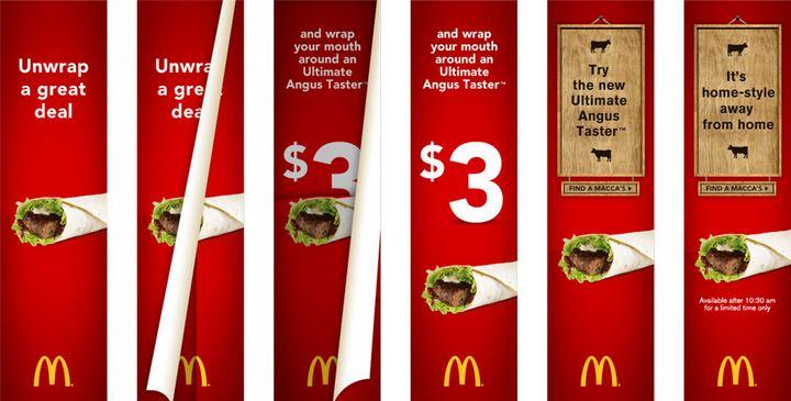 عوامل تاثیرگذاری بنر تبلیغاتی