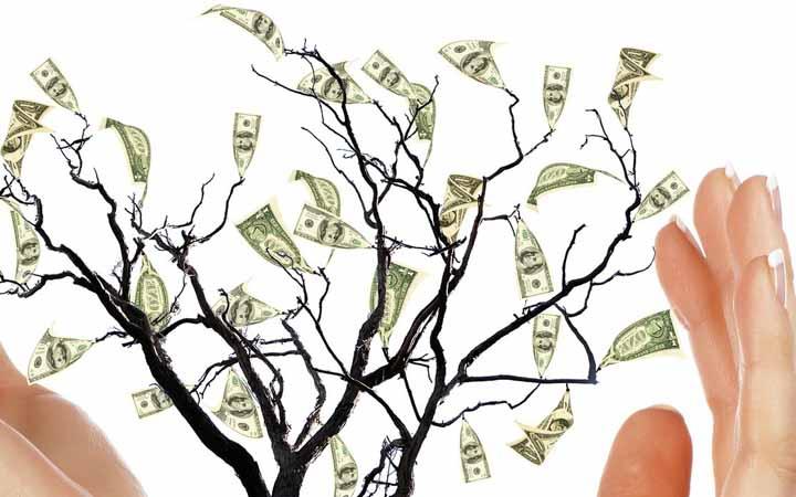 درآمد یاقی مانده از فواید بازاریابی شبکه ای
