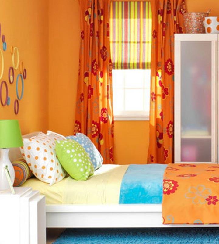 دکوراسیون اتاق خواب دخترانه - بدون رنگ صورتی