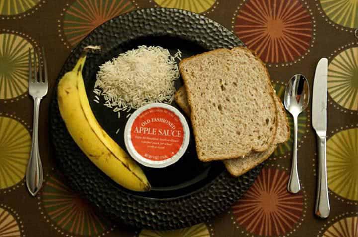 غذاهایی که برای درمان اسهال باید خورد