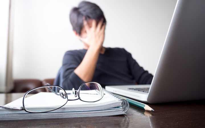 استرس مخرب - درمان استرس شدید