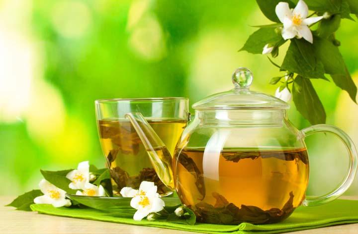 قوری چای سبز