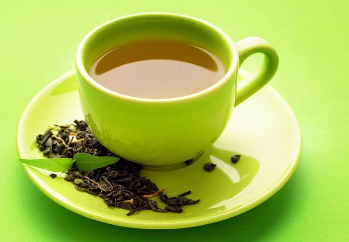 درمان خانگی کبد چرب - چای سبز در بهبود کبد چرب موثر است.
