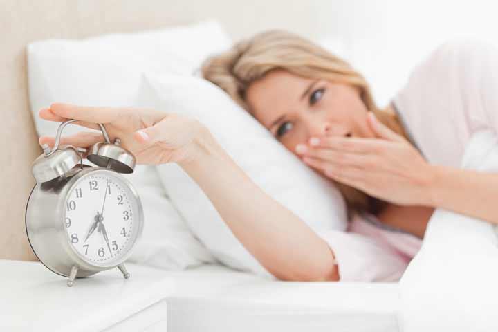 به موقع بیدار شدن برای درمان استرس شدید