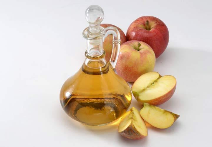 درمان خانگی کبد چرب - سرکه سیب برای درمان کبد چرب و التهابات کبدی مفید است.