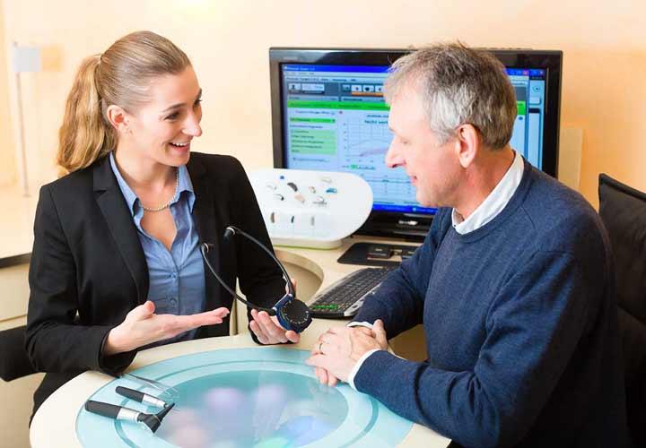 گوش درد - در صورت عفونتهای مکرر می توان آزمون شنوایی سنجی انجام داد.