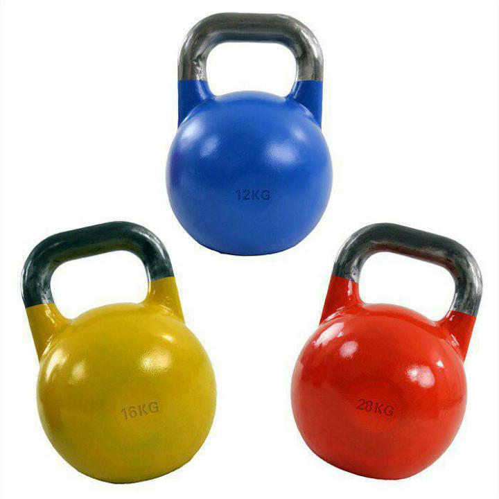 تقویت عضلات بازوها - انجام حرکات کتل بل