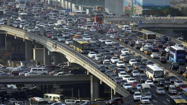 ترافیک سنگین - جلوگیری از استرس