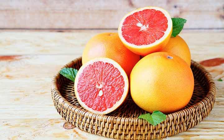 گریپفروت - ۱۰ میوه مفید برای دیابتیها