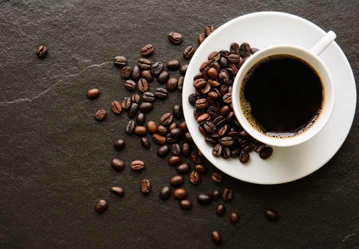 قهوه تقزیبا کالری نداشته و جزو ۳۶ غذای کم کالری محسوب می شود.