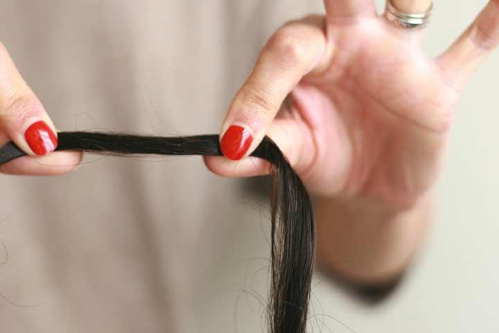 ماسک مو برای انعطاف پذیری مو