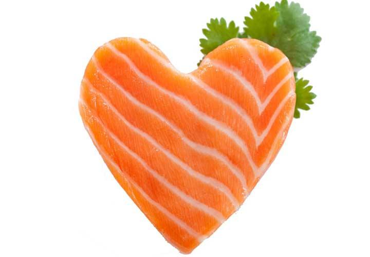 اومگا ۳ برای سلامت قلب مفید است.