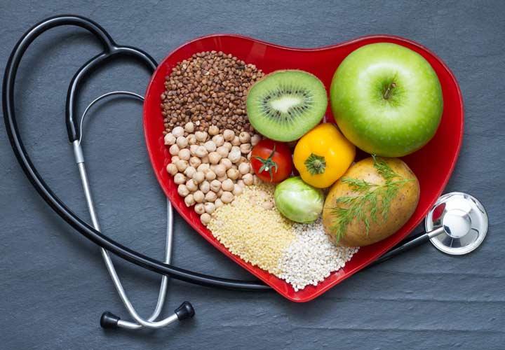 کاهش ۴۶ درصدی خطر بیماریهای قلبی از فواید رژیم گیاهخواری است.