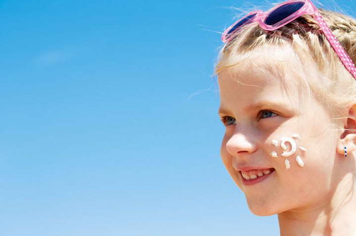 مراقبت از پوست در تابستان - کودکان