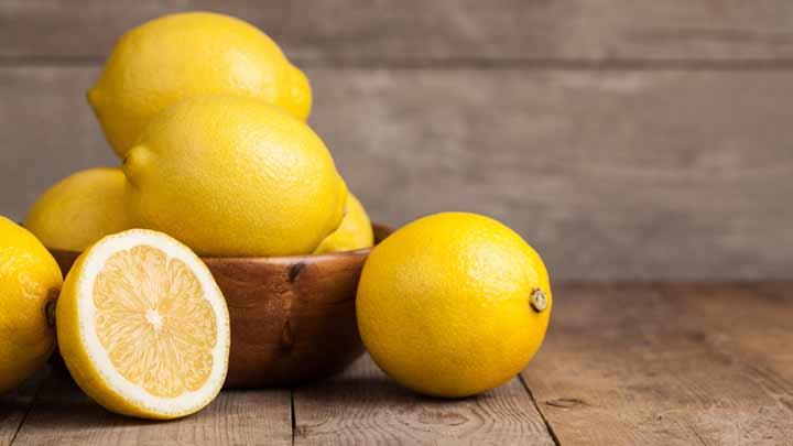 لیمو برای پاکسازی پوست