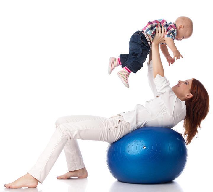 ورزش با نوزاد - تناسب اندام بعد از زایمان