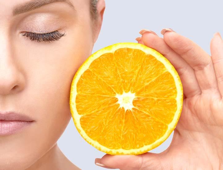 افزایش مصرف ویتامین C - چگونه پوستی جوان داشته باشیم