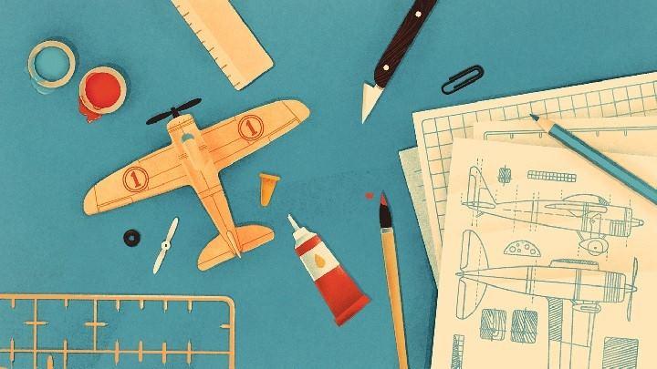 ساخت هواپیمای مدل - قدرت استدلال