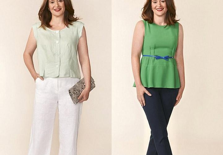 سایز مناسب بپوشید - چگونه لاغر به نظر برسیم