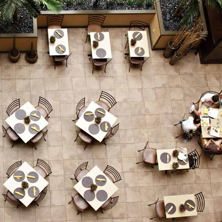 افزایش نرخ جابجایی در میزهای غذاخوری با افزایش فروش رستوران همراه است.